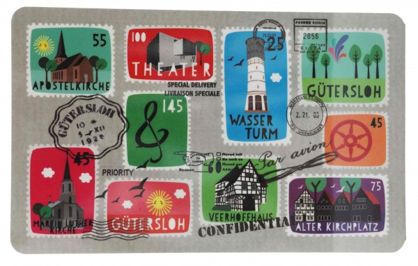 Brettchen Stamps - Gütersloh