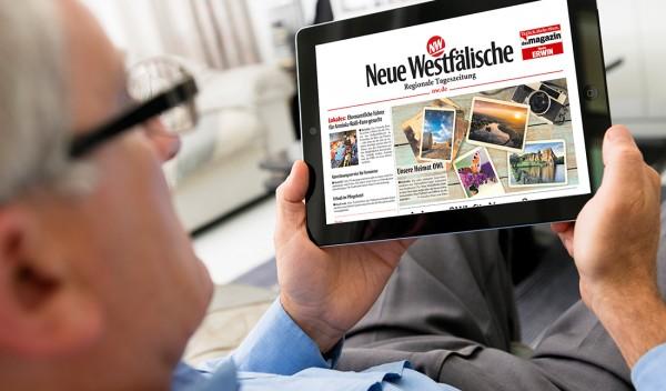 Das ePaper, die digitale Zeitung, gratis testen!