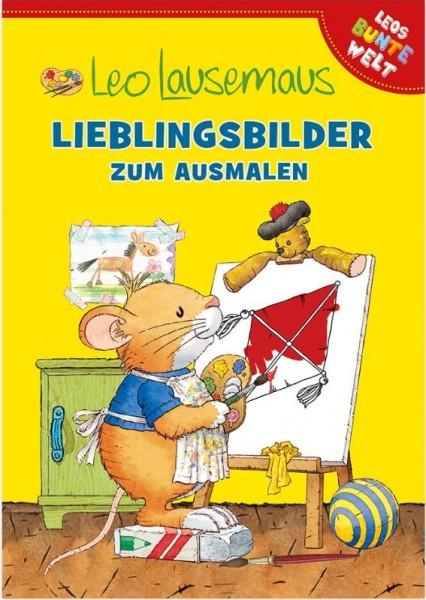 Leo Lausemaus - Lieblingsbilder zum Ausmalen