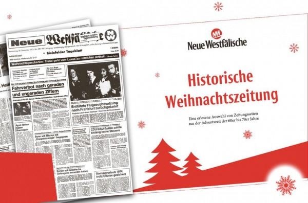 Historische Weihnachtszeitung