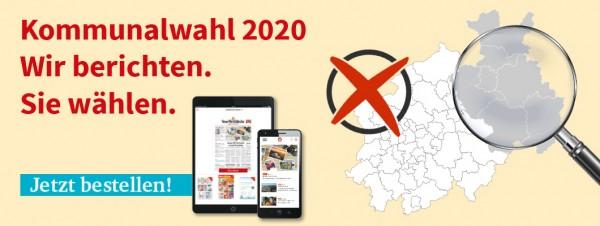 Zur Kommunalwahl: das ePaper gratis testen