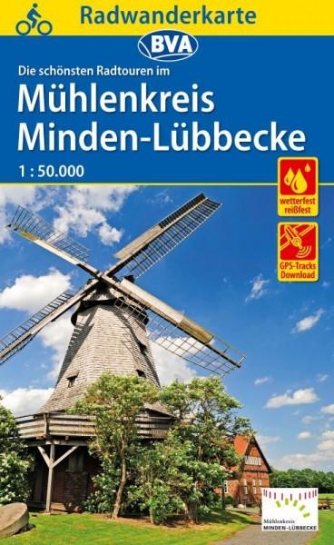 Radwanderkarte Mühlenkreis MI-LK.