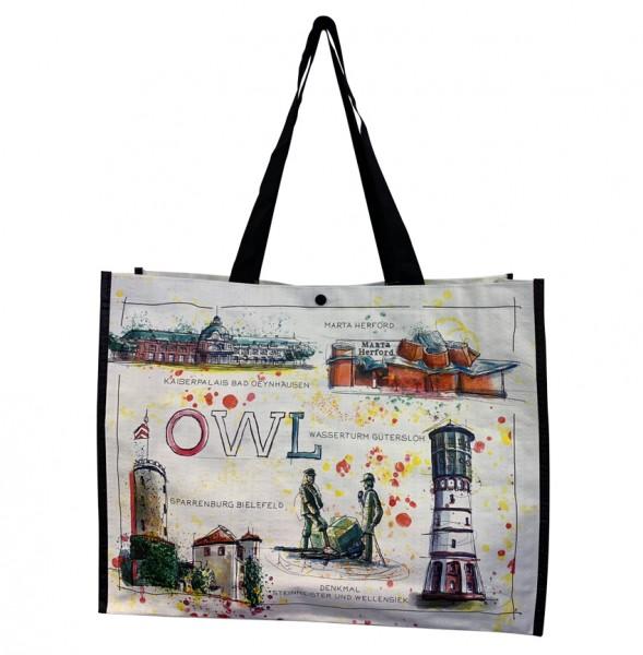 Shopper Tasche OWL Fine Art