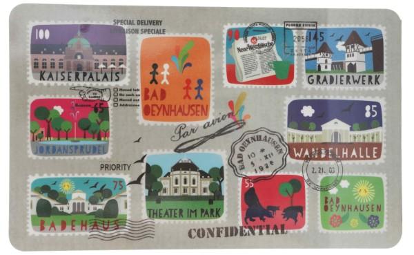 Brettchen Stamps - Bad Oeynhausen