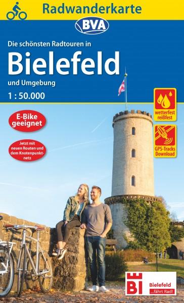 Radwanderkarte Bielefeld 2020