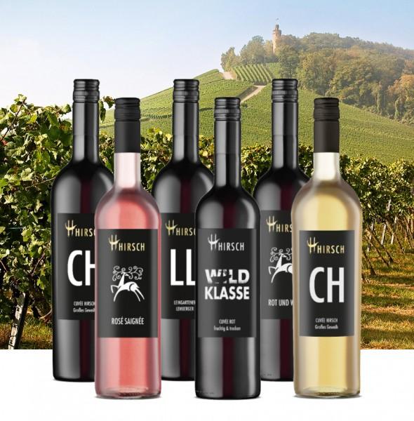 """NW-Weinpaket """"Hirsch ist Wild"""""""